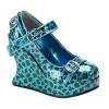 BRAVO-10 Turquoise Cheetah Patent
